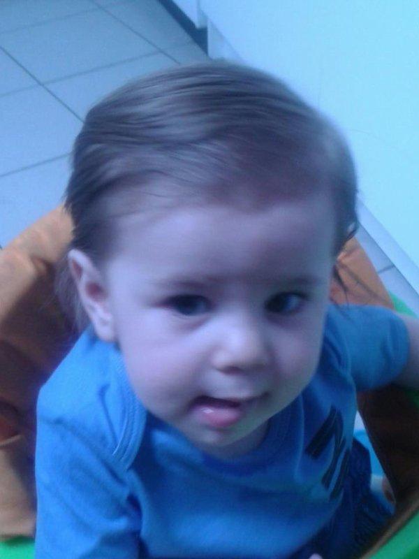 mon fils tizyano 1 ans mon bonheur
