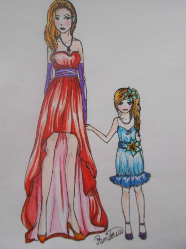 dessin feutres et crayons de couleurs