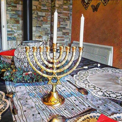 Hanukkah la fête de la lumière / Réflexion messianique