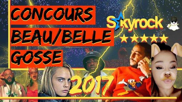 CONCOURS DE BEAU GOSSE 2017 !