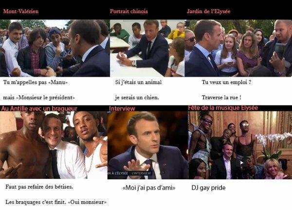 Macron NOTRE idole