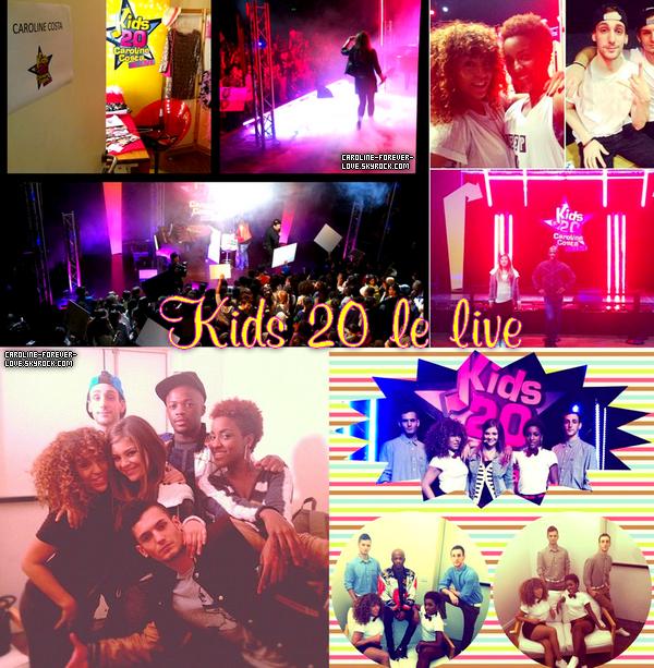 Kids 20 le live