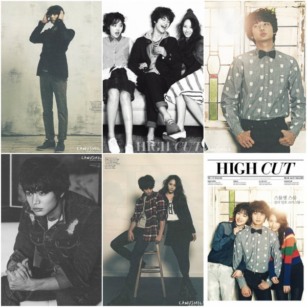 Minho dans le magazine High Cut