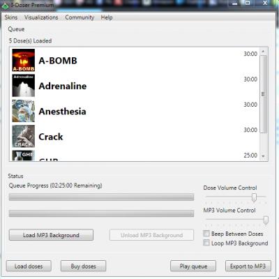 Dose : Présentation du logiciel I-Doser
