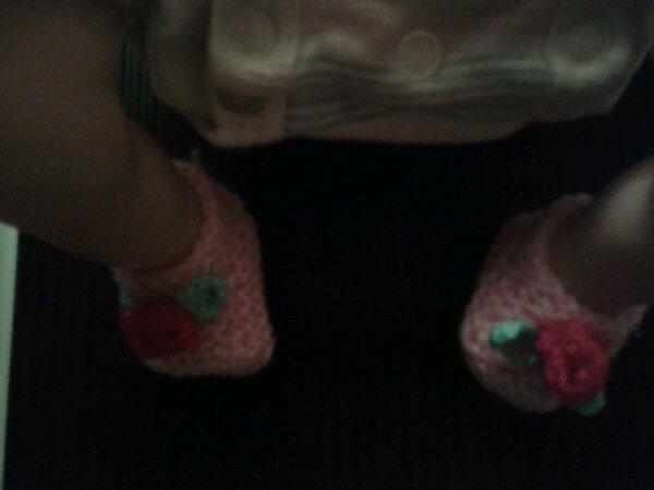 Chaussons pour mini reborn