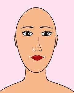 8 forme de visage 2
