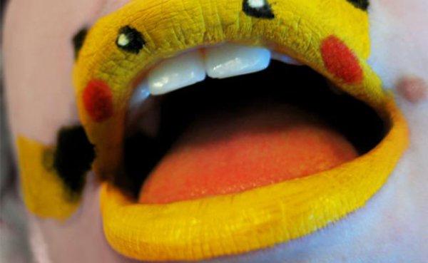 Le lip art, une tendance beauté à tester
