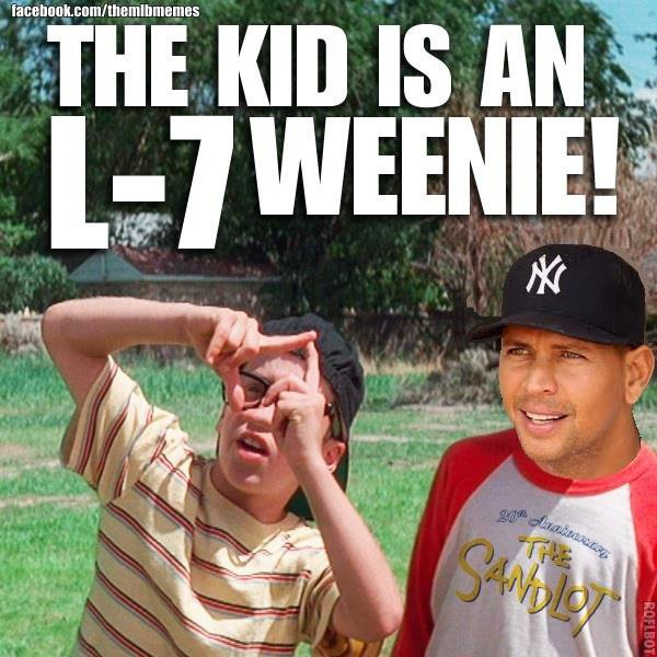 The Kid Is An L-7 Weenie!