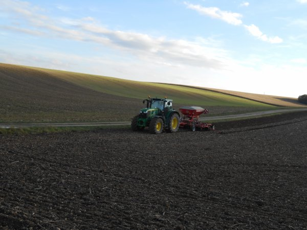 Semis de blé en 6170 R;
