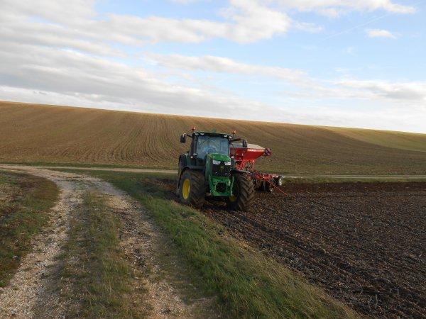 Chantier de semis en 6170 R Fin.