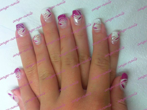 gel french sur julie