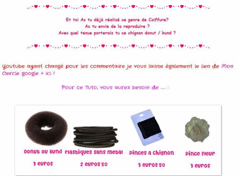 Jour 2 ! [Tuto Coiffure] Un Chignon Donut / Bund pour les Fetes !