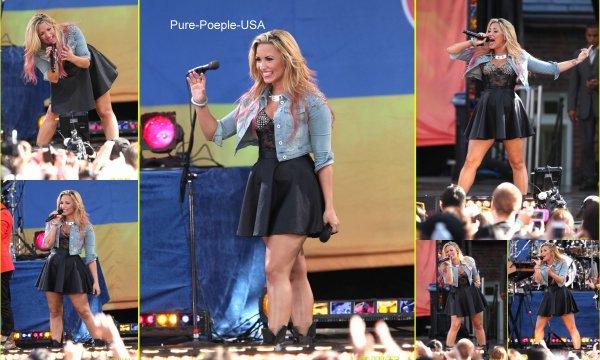 06/07/12 : Demi Lovato : Donner un concert , Une série de chanson perfomante !