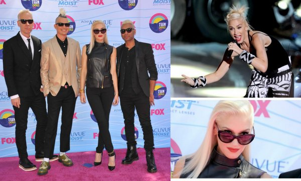25/07/12 : Gwen Stefani vue à New-York .