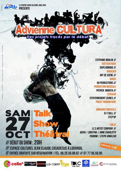 Advienne Cultura le 27 octobre 2012 à Louvroil !