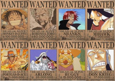 Wanted one piece - One piece 2 ans plus tard wanted ...