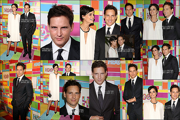 25/08/2014 : Peter Facinelli & Jaimie Alexander au HBO's Official 2014 Emmy After Party qui ce de dérouler à LA ! P Facinelli porter une tres belle tenue la soiree ce derouler au The Plaza au Pacific Design Center après la 2014 Emmy Awards !