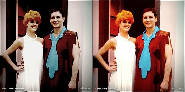 Instagram (31/10/2014) : ●●● Superbe photo de Pet Facinelli et sa fille Fiona (zombie) pour son halloween !  La petite fiona est toute mignonne dans son beau déguisement + Jaimie Alexander (petite amie de P) était aussi de la partie  !