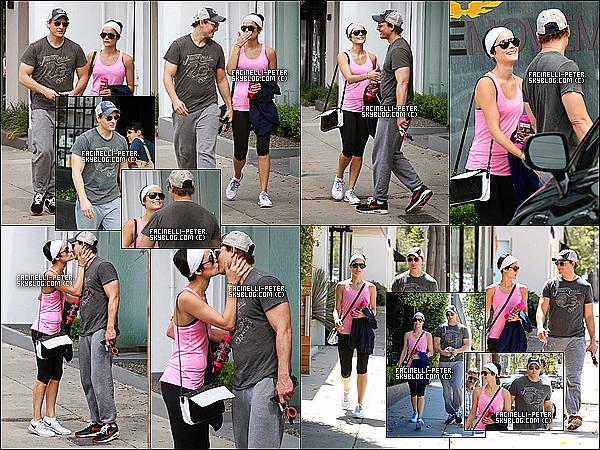 29/05/2014 :  P Facinelli et sa petit amie Jai' Alexander  on était vue sortant/allant de leur court de gym a LA  !  P' est superbe quoi que je n'aime pas la casquette mais jai' est superbe elle a une peau magnifique + de plus en plus fan de cette femme !