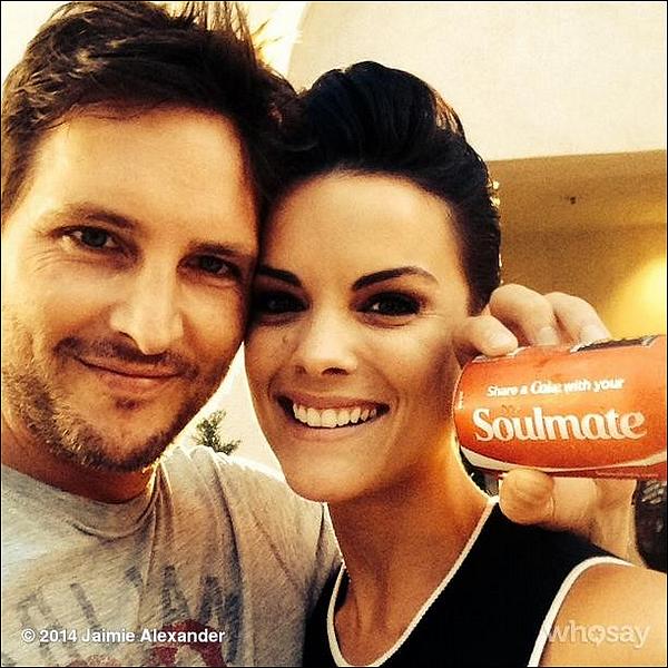 (29 Juillet 2014) ▲▼ Photos de Jaimie Alexander et Peter  sur son compte Instagram de Jaimie !