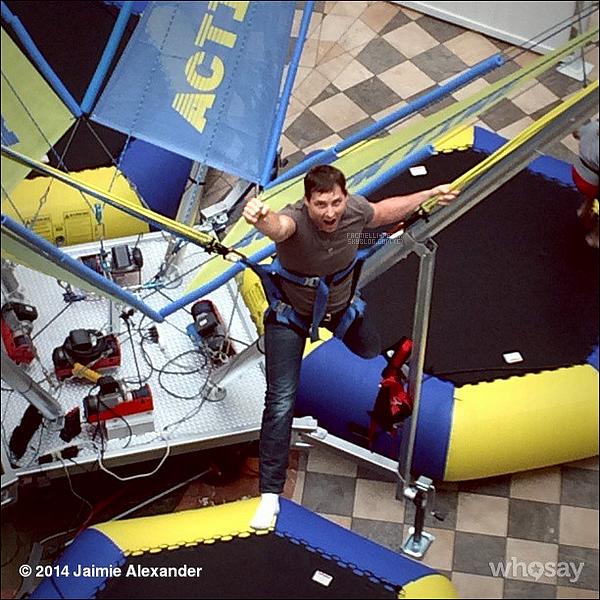 """(28 Sept 2014)▲▼ Nouvelle photo de P Facinelli """"SuperMan"""" poster sur l'instagram de Jaimie !"""