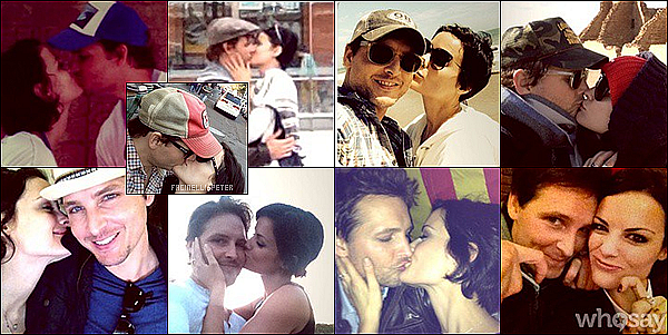 Instagram : Quelques photos de Pet Facinelli et Jaimie Alexander sur leur compter respectif !