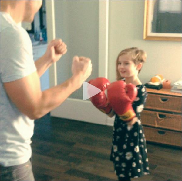 Petite video de Peter Facinelli et sa fille Fiona sur le compte Instagram de Peter Facinelli !