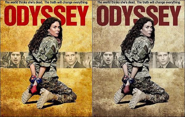 "Poster promo pour la serie ""Odyssey"" + Premier still de Mr Facinelli dans la serie ""Odyssey"" !"