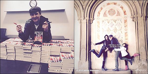 Nouvelles photos instagram de Peter Facinelli et sa fiancée Jaimie Alexander   !
