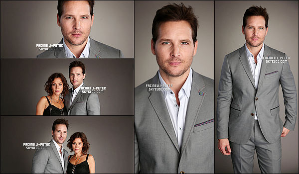 "02/04/2015 : Notre charmant Peter Facinelli pressent pour l'évent  ""2015 NBCUniversal Summer Press Day"" à N.Y !   .... !"