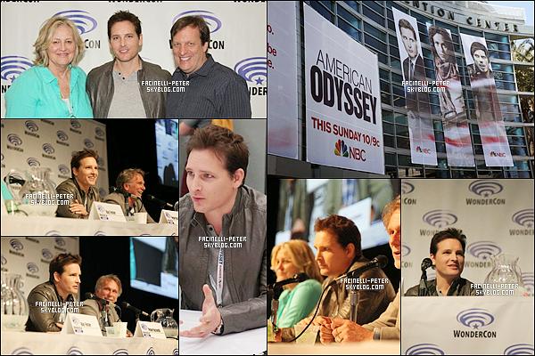 """07/04/2015 : P Facinelli été pressent au """"WonderCon 2015"""" pour présenter son prochain film American Odyssey  !   .... !"""