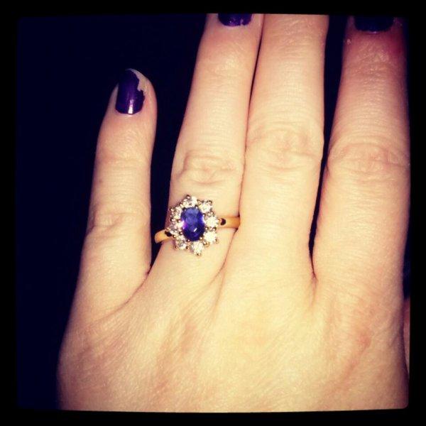 Je suis fiancée