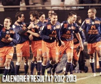 → Article 5 : Calendrier/Résultat de Montpellier