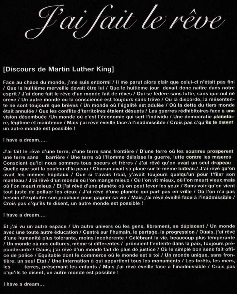 """PAROLES """"J' ai fait le rêve"""" Album """"AXIOM"""" 2006"""