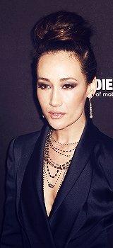 Maggie Q Weinstein Company et 2014 des Golden Globes Parti Netflix