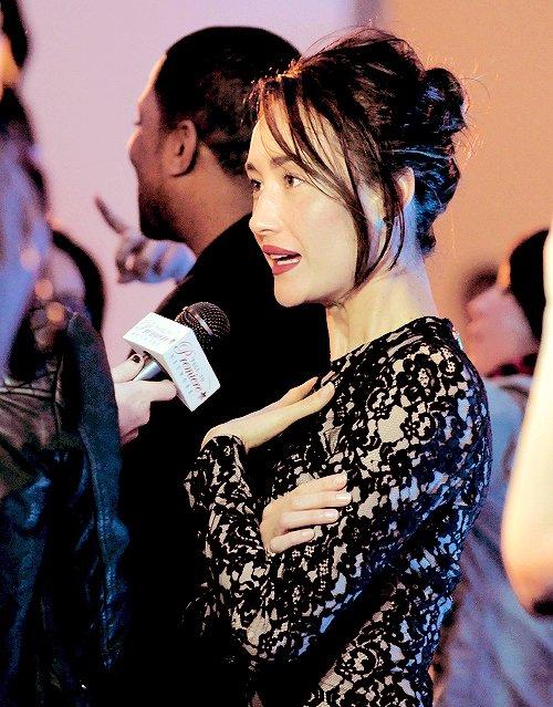 """Maggie Q à """"Divergent"""" Premiere, San Francisco (05/03/14)"""