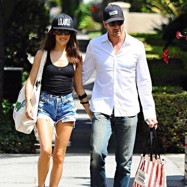Maggie Q et Dylan Mcdermott dans Brentwood 07.09.14