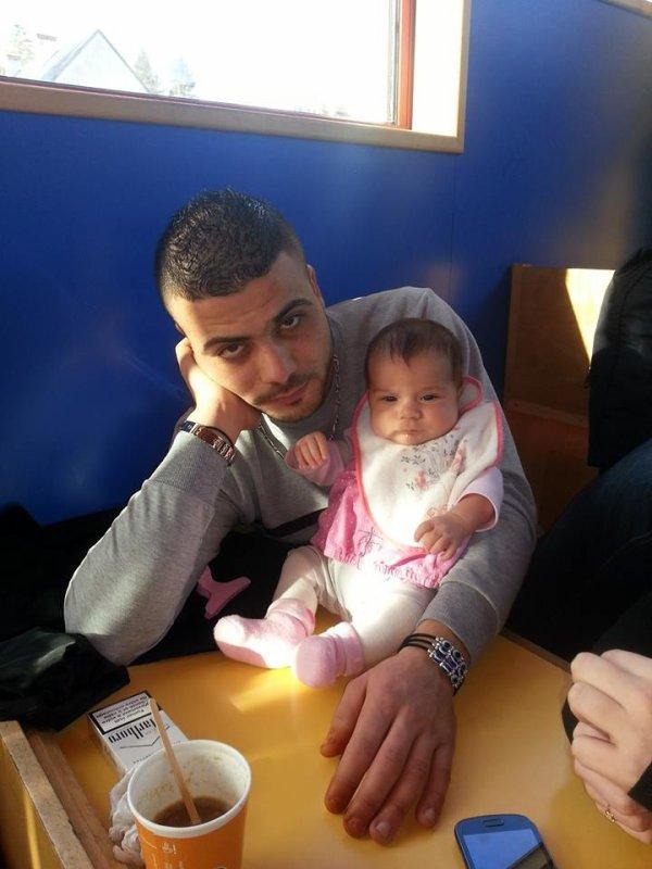 mon mari et sa fille adorer