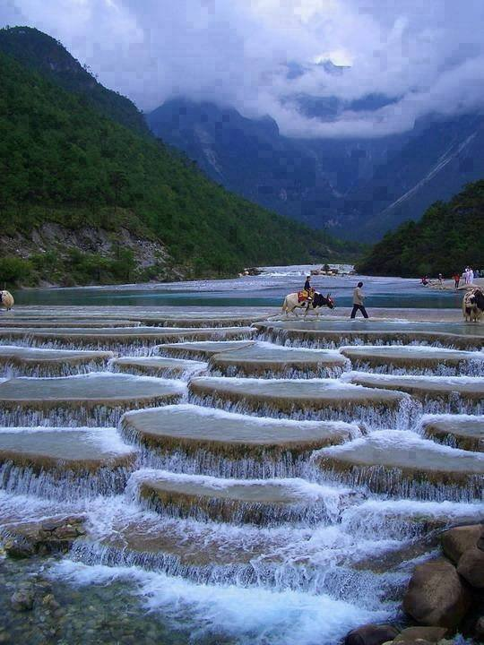 Blue Moon Valley, Chine