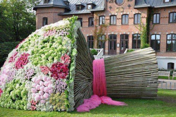 Un assez grand bouquet!