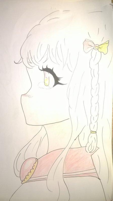 Une Magical girl sans bouche 'w'