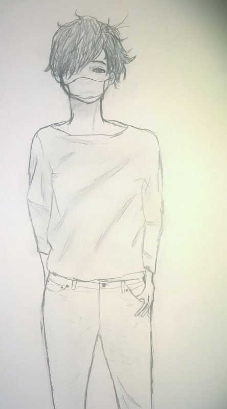 Une personne androgyne (^-^)