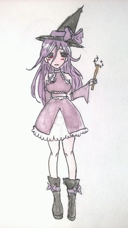 Une sorcière ( ̄▽ ̄)