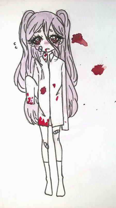 Une loli vampire 'w'