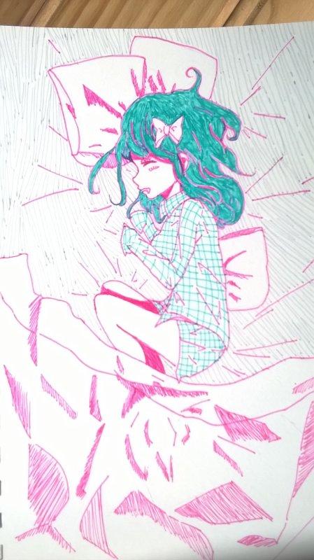 Une fille qui dort ☆彡