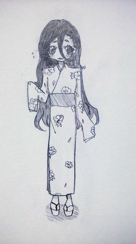Une cutie en kimono >3<