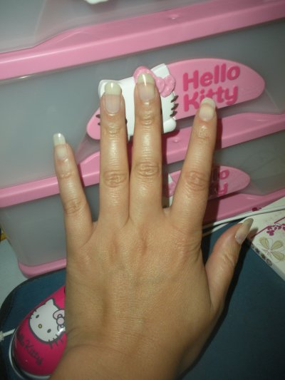 mes ongles naturelle
