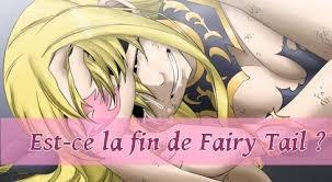 Est-ce la fin de Fairy Tail ?!