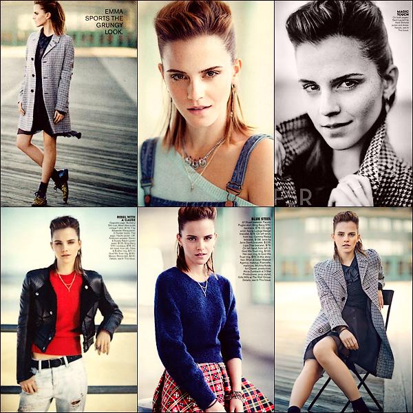 Emma a posée pour Teen Vogue (Août 2013)