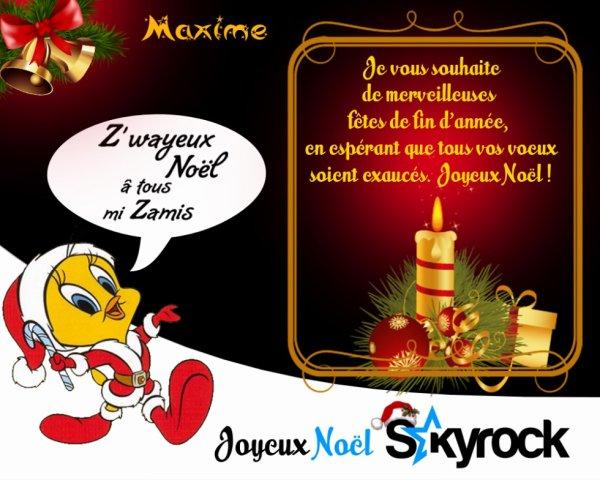 Joyeux Noel a tout le monde ♥